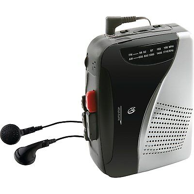 Купить GPX - GPX CAS335B Stereo AM/FM Radio Cassette Player w/Recorder Portable Walkman NEW