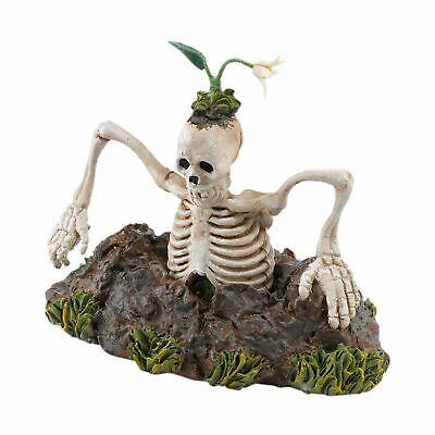 Dept 56 Halloween Snow Village Grave Escape Skeleton 4025397 Accessories NEW - Halloween Grave
