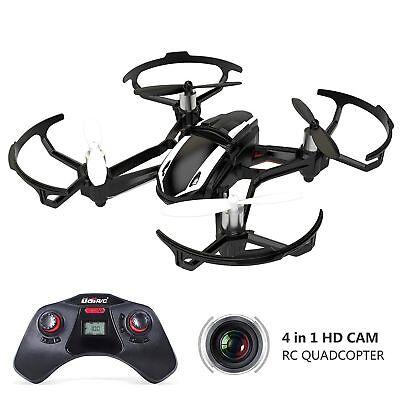 UDI U841-1 RC Quadcopter Car Drone with 2MP HD Camera 3D Flip 2.4Ghz 6-Axis Gyro