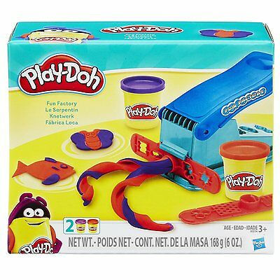 Play Doh Dough Clay Fun Factory Toy Kids Boys Game Playdough Gift Set Safe Color