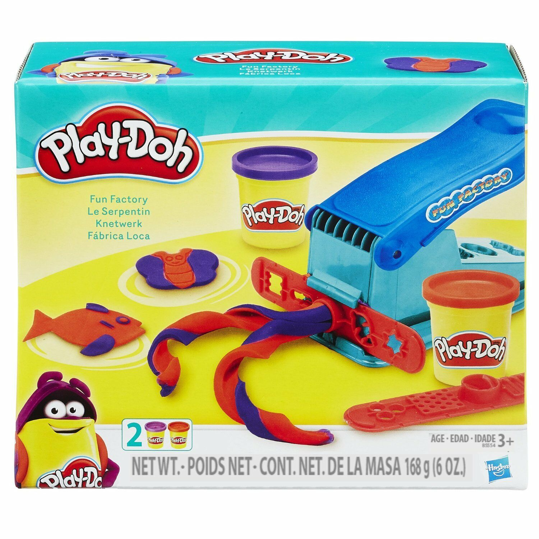 Play Doh Dough Clay Fun Factory Toy Kids Boys Game Playdough