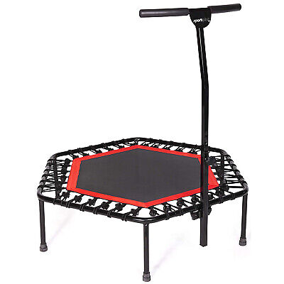 SportPlus SP-T-110-R Mini Rebounder Fitness Trampoline with