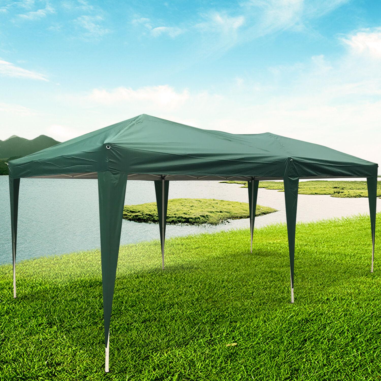 10' x 20' Waterproof Tent Heavy Duty Outdoor Folding Gazebo