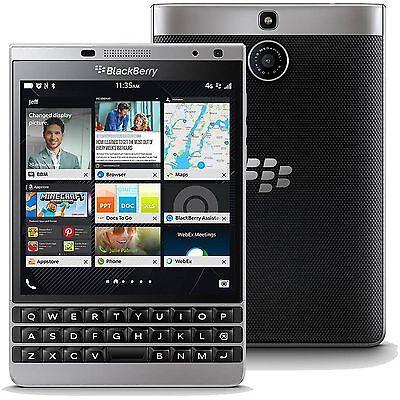 New BlackBerry Passport Silver Edition SQW100-4 32GB Factory Unlocked 4.5'' USA