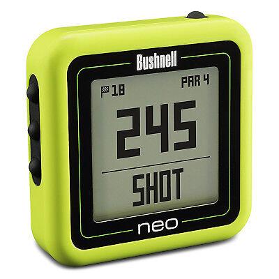 Bushnell Neo Ghost Compact Golf GPS Rangefinder, Green (Certified Refurbished)