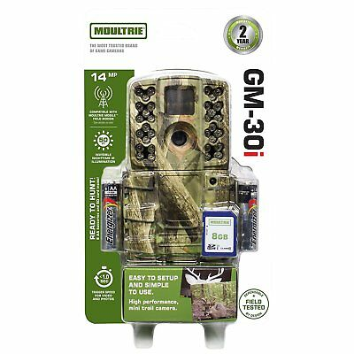 New 2017 Moultrie A-30i Invisible Infrared 14 MP Game Trail Camera GM-30i