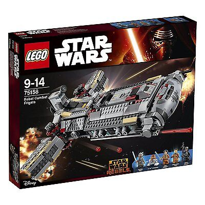 Lego Star Wars™ Rebels 75158 Combat Frigate New Original Box Rarity (B-Stock)