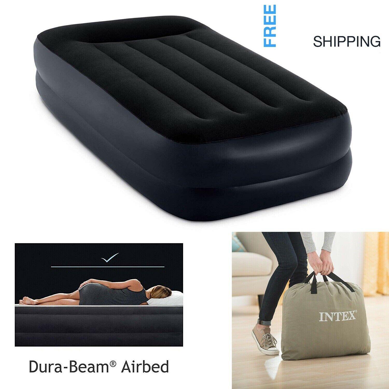 Intex Dura-Beam Standard Series Pillow Rest Raised Airbed w/