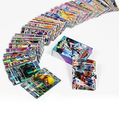 60 GX Cards For Pokemon Bundle Charizard Trading Holo Flash Card Kid Toy Gift