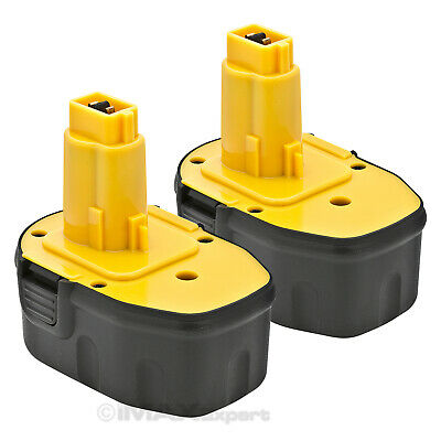 2 NEW 14.4V NI-CD Battery for DEWALT 14.4 VOLT DC9091 DW9091