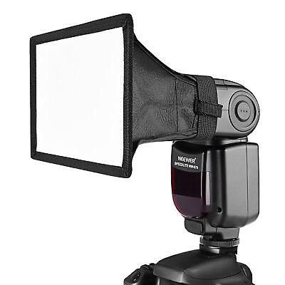 "Neewer 6x5"" Speedlite Softbox Diffuser for Canon YongNuo Nikon Neewer Flash"