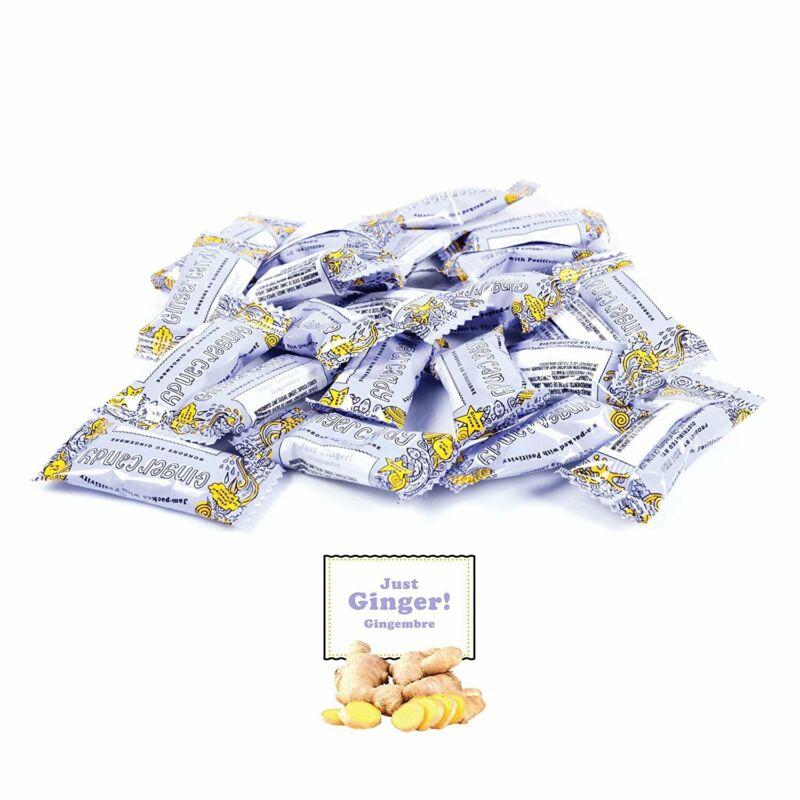 Gem Gem Ginger Candy Chewy Ginger Chews (1 Pound Bulk Pack)