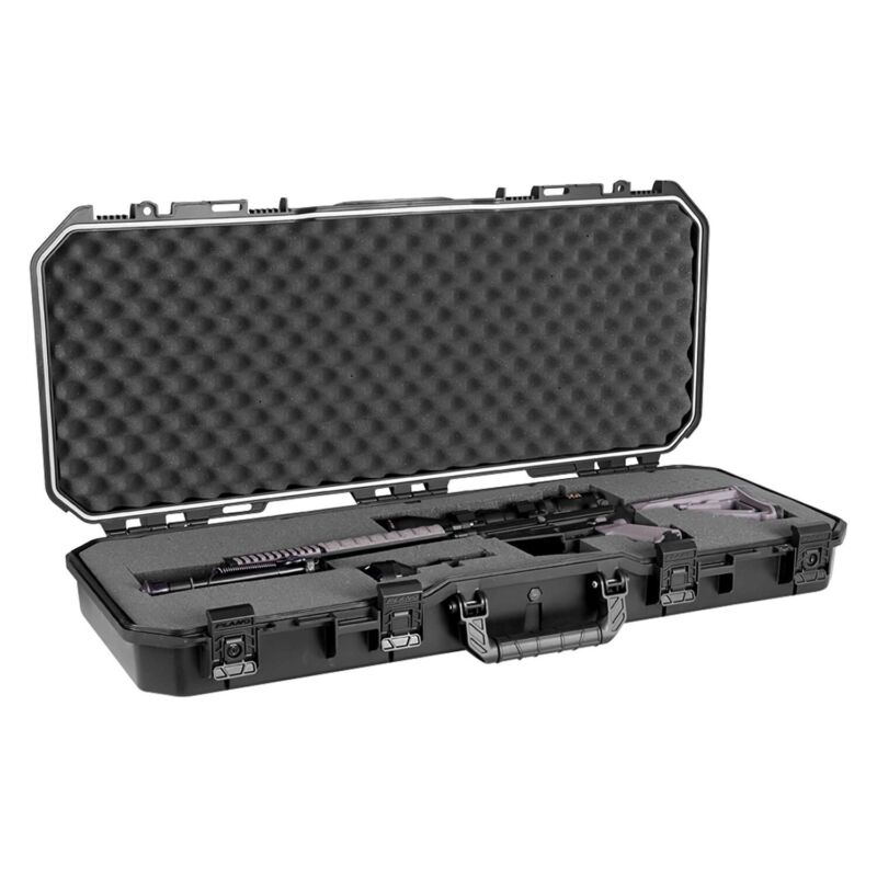 """Plano PLA11836 36"""" All Weather Hard Sided Tactical Rifle Long Gun Case  Black"""