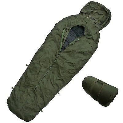 Army Sleeping Bag Cover Bivi Bag Compression Sack Italian Military Surplus