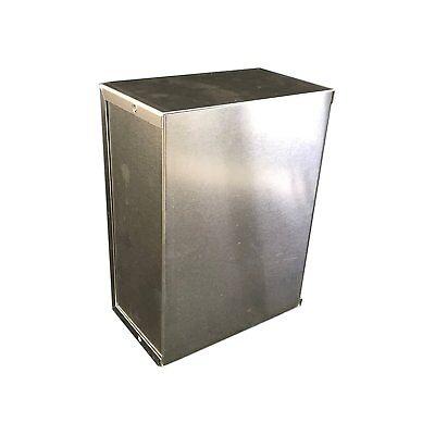 Bud Aluminum Electronics Enclosure Project Box Case Metal Small, 8X6X3-1/2 New