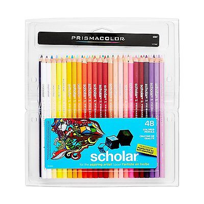 Prismacolor Scholar Colored Pencils 48 Count