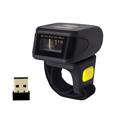 Symcode 1d Wireless Bluetooth Ring Barcode Scanner Reader Fr Mac Os Androidios