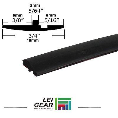25ft Rubber Seal Truck Windshield Sunroof Waterproof Edge Strip Trim All Weather