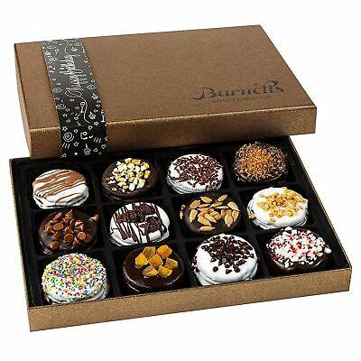 Barnett's Chocolate Cookies Birthday Gift Basket for Women & Men Gourmet Happy