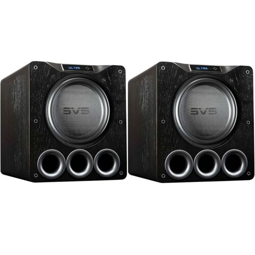 "Svs Pb16-ultra 16"" Powered Subwoofer (black Oak) -pair"