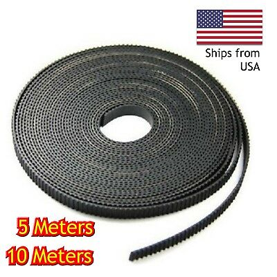 Gt2 Timing Belt 6mm 3d Printer Reprap Alunar Anet Creality Tronxy Cnc 5m10m