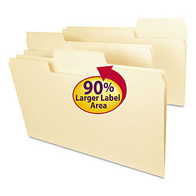 Smead Supertab File Folders 13 Cut Top Tab Legal Manila 100box 15301