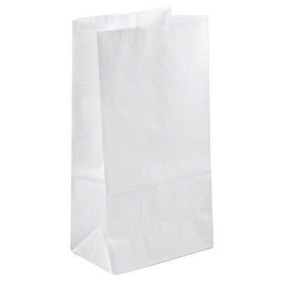 Duro White Paper Bag 6 Lb 500 Count