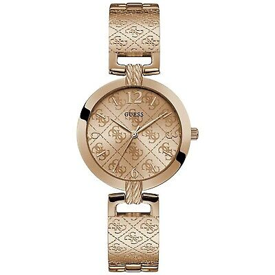 Guess G Luxe Women's Rose Gold Tone Stainless Steel Quartz Watch W1228L3