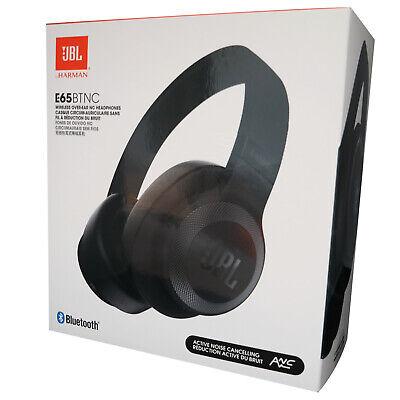 JBL E65BTNC Over Ear Bluetooth Kopfhörer mit Active Noise Cancelling schwarz