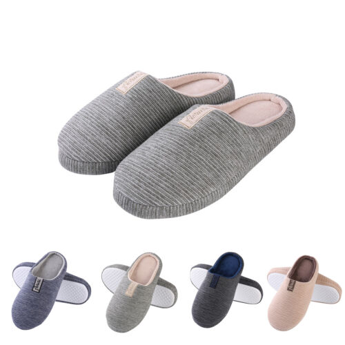 women men winter warm soft slip on