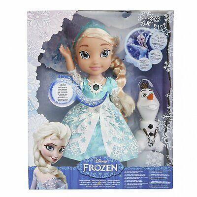 Brand New Disney Frozen Snow Glow Elsa Singing Doll (Discontinued) - Frozen Movie Frozen Movie