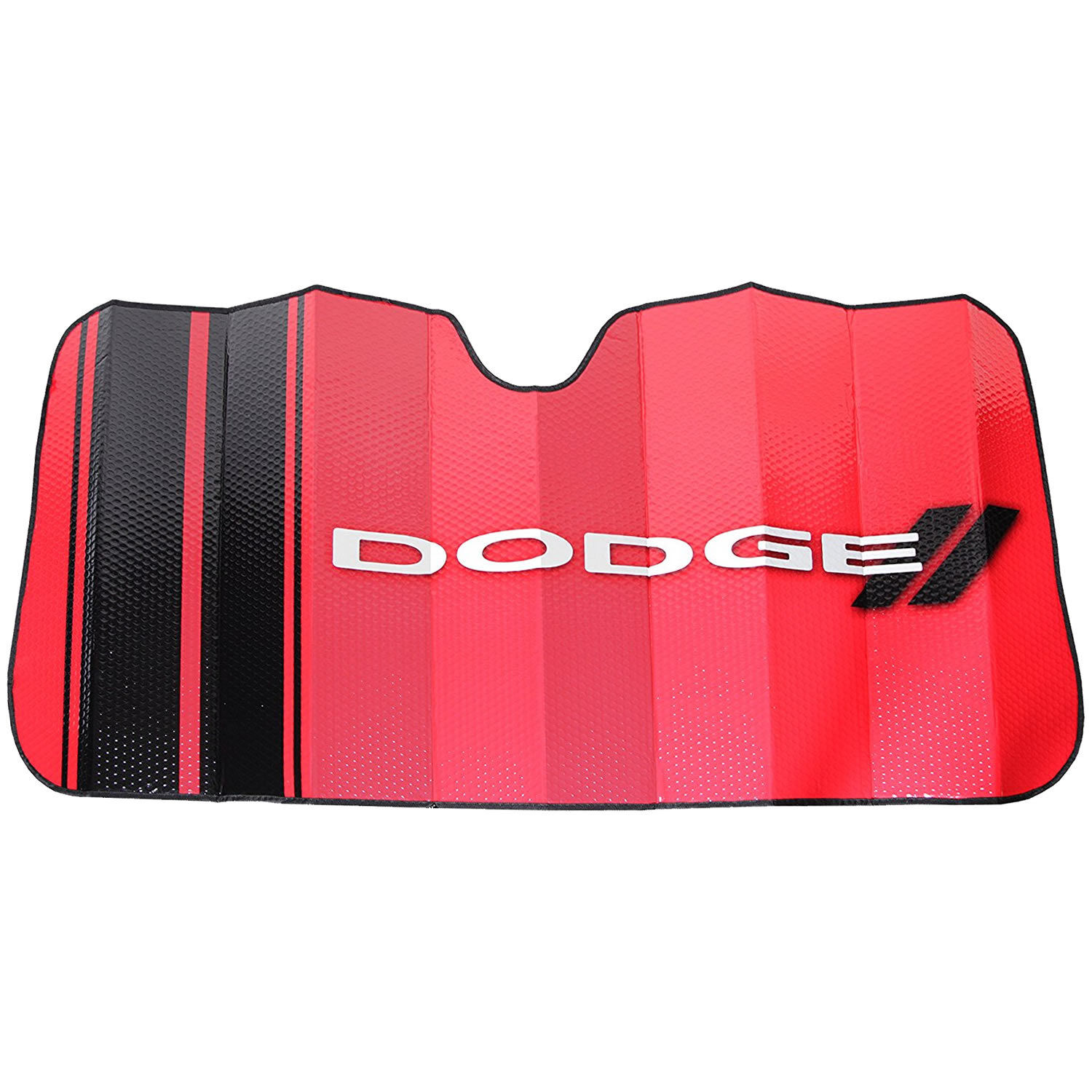 1 pc Red Black White Windshield Aluminum Bubble Foldable Sun Shade New for Dodge