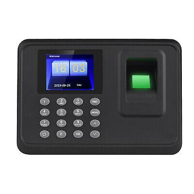 2.4 Lcd Biometric Attendance Machine Fingerprint Employee Usb Checking-in Clock
