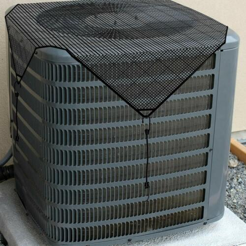 Summer Net Mesh Air Conditioner Mesh Cover for Outside Units AC Top Protector