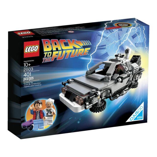 LEGO - The DeLorean Time Machine - Ideas 21103 - Back to The Future - Brand New