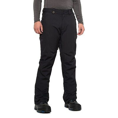 NWT - QUIKSILVER Men's ESTATE INSULATED SNOWBOARD PANTS Black - L