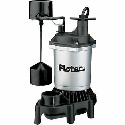 New Flotec Fpzs50t 12 Hp 4200gph Automatic Submersible Sump Pump Nib