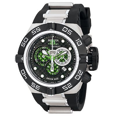 Swiss Made Invicta 6566 Subaqua Noma IV Chronograph Watch with 3-Slot Dive Case