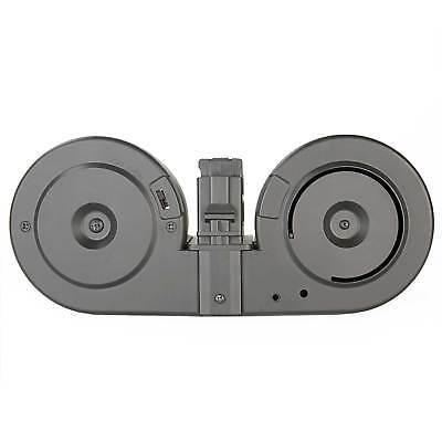 Airsoft Electronic - Airsoft Gun Drum Magazine G36 3000 Round Electronic Self Winding Dual + Remote