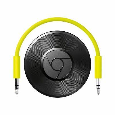 Google Chromecast Audio Media Streaming Device EU with US Adapter