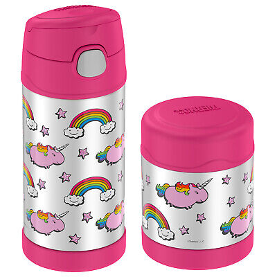 Thermos Funtainer Lunch Set: 12 oz Bottle and 10 oz Food Jar