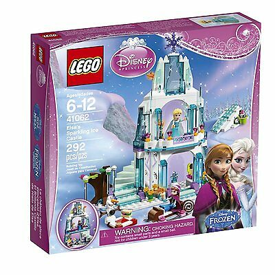 LEGO Princess Sealed Set Friends Disney Frozen Elsa Toy NEW 41062 Ice Castle