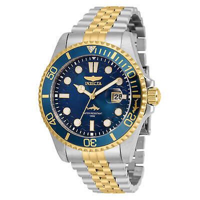 Invicta Men's Watch Pro Diver Quartz Blue Dial Two Tone Bracelet 30616