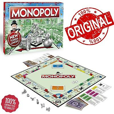 Original Genuine Hasbro Monopoly Classic Edition Family Traditional Game 8 Token