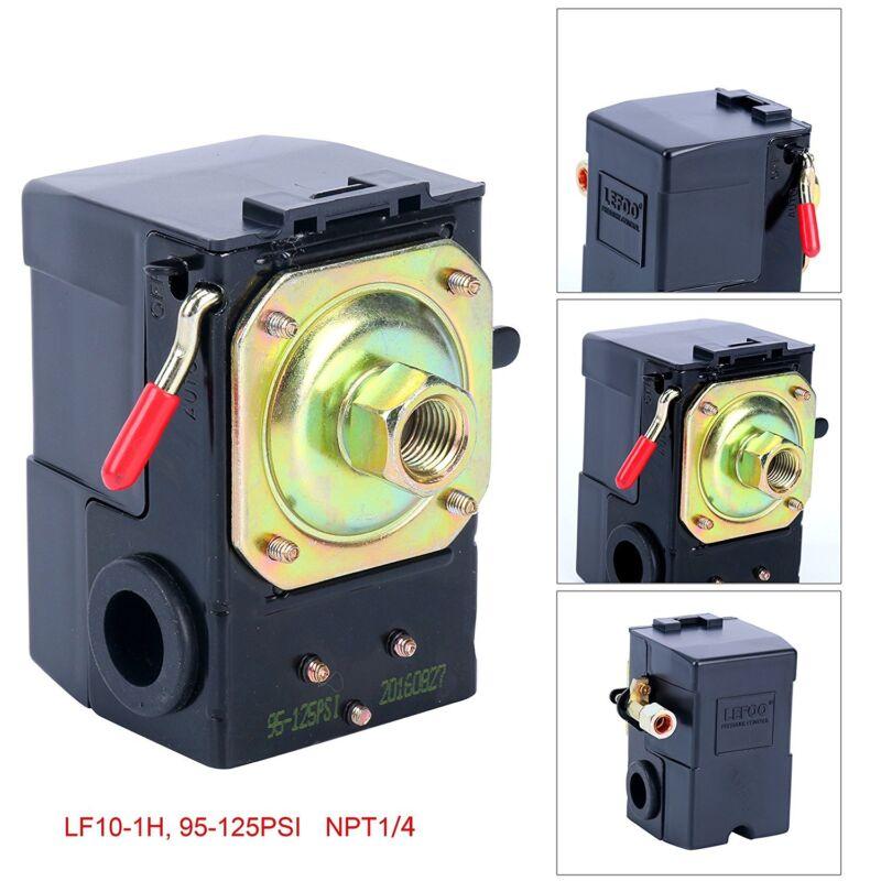 Lefoo Quality Air Compressor Pressure Switch Control 95-125 PSI Single Port