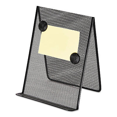 Universal Metal Mesh Document Holder 9 X 8 58 X 11 38 Free Standing Black