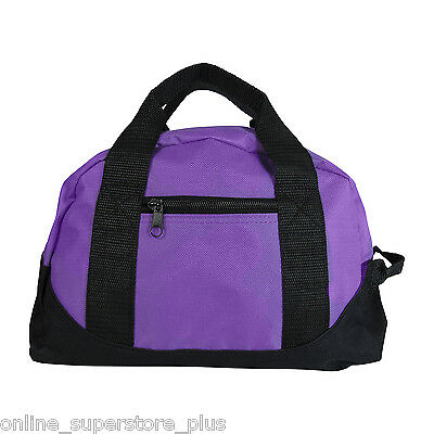 bdc7109a2a69 Girls Purple Duffel Bag Womens Mini Yoga Gym Sports Pilates Cunning Small  Carry On