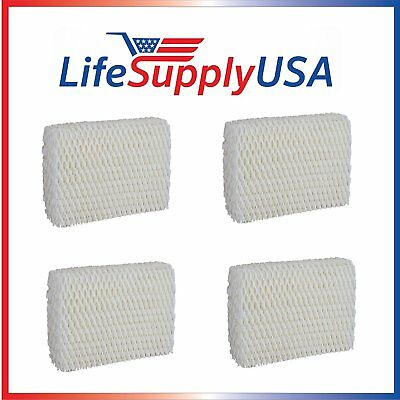 4 Pack - Humidifier Filter for Kaz WF813 Wick ReliOn RCM832