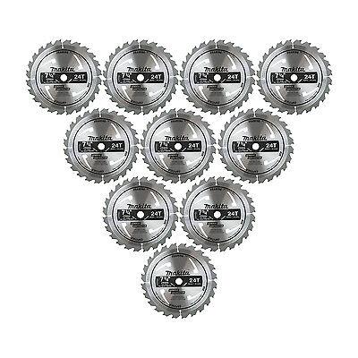 Makita D-45989-10 7-1/4-inch 24T General Contractor Circular Saw Blade 10-Pack