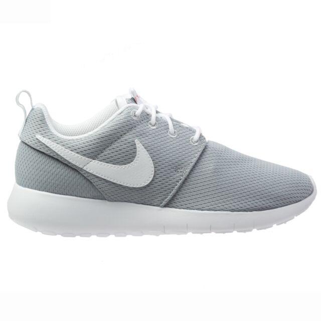 6e7318132e5 ... Nike Roshe One Big Kids 599728-038 Wolf Grey Mesh Athletic Shoes Youth  Size ...
